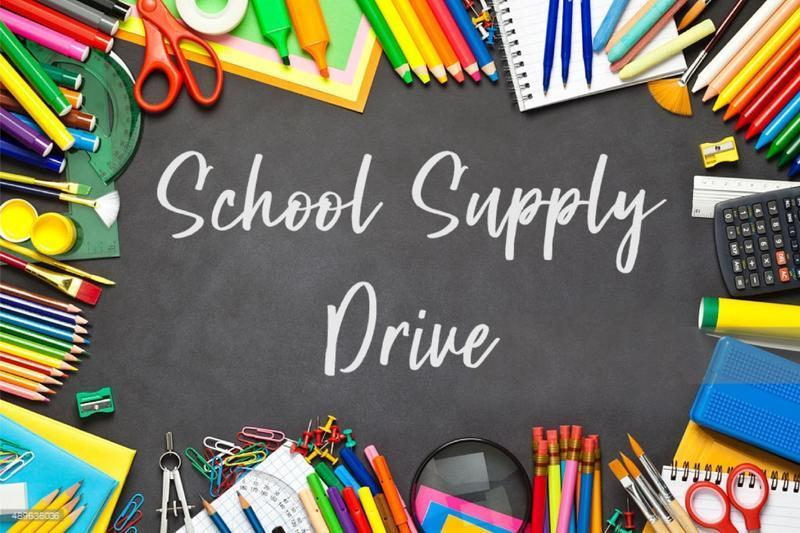 PTSA Hosts Supply Drive