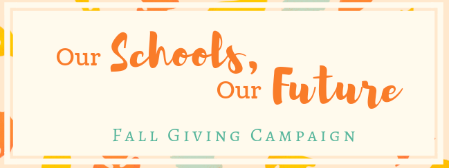 Join our Fall Giving Campaign!