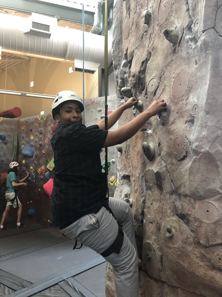 Auto belays help with getting more climbers on the wall