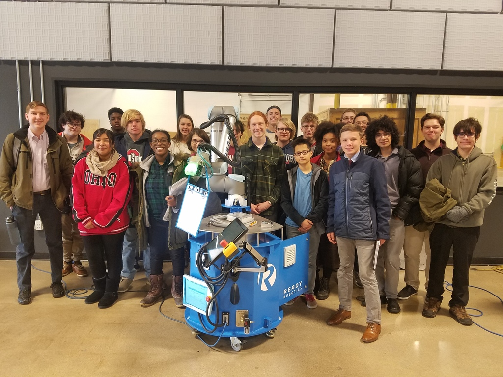 Design Students with a near-ready to ship robot arm from Ready Robotics