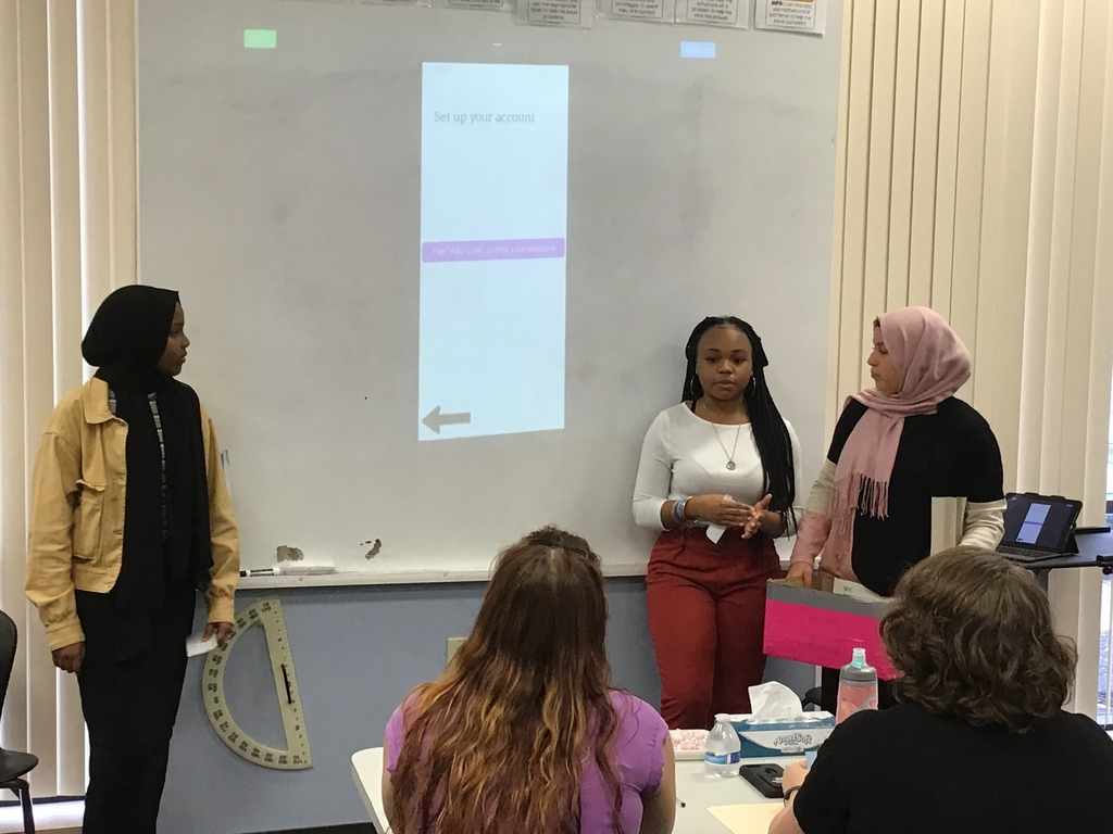 These young ladies are looking into a serious problem and proposing solutions!