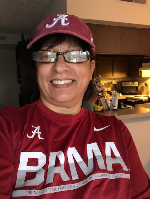 Ms. Vee' Alabama Gear for March Madness Day