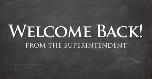 Welcome Message from Metro's Superintendent